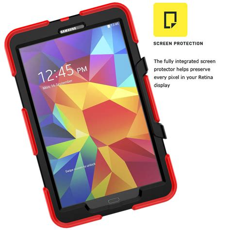 Flip Smart Armor Bumper Polyurethane Book Cover Casing Air 2 for samsung galaxy s2 8 0 hybrid shockproof rubber bumper armor stand cover ebay