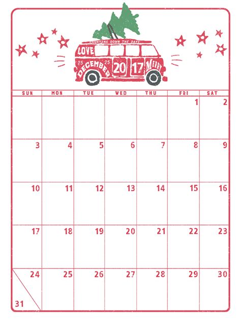 printable daily calendar december 2017 marie lottermoser free printable calendars holiday 2017