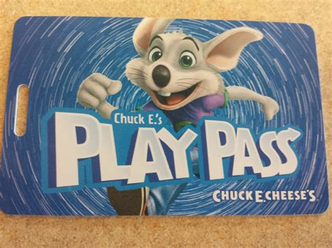 Chuck E Cheese Gift Card - new play pass cards yelp