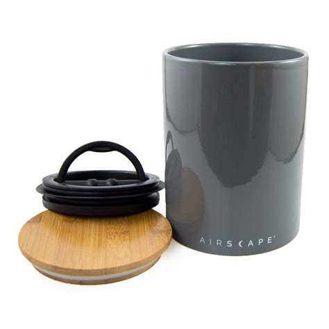 airscape kitchen canister airscape 174 ceramic planetary design