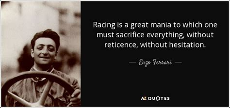ferruccio lamborghini quotes enzo quote racing is a great mania to which one