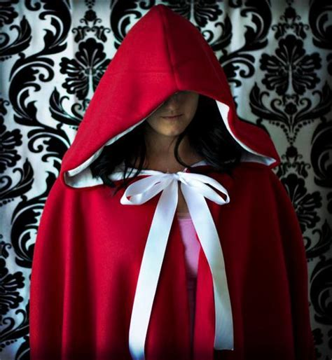 Simple Pattern For Red Riding Hood Cape | red cape pattern free patterns