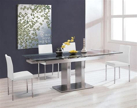 zoe expandable dining set 1 312 31 modern dining