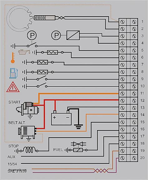 starter panel wiring diagram luxury panel