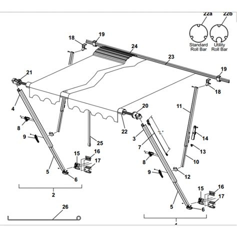 carefree awning parts diagram carefree rv awning parts 28 images caravansplus spare parts diagram carefree sl