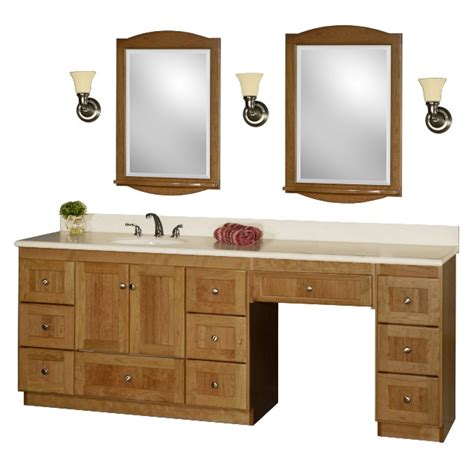 sink vanity with makeup area images
