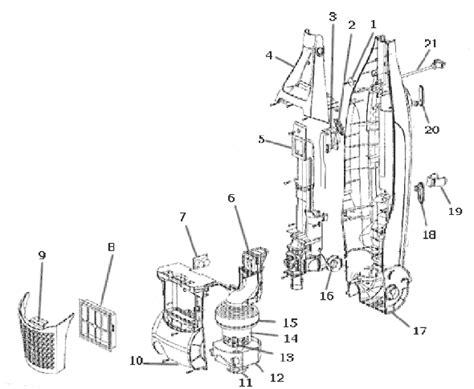 electrolux vacuum parts diagram electrolux el8502a parts list and diagram