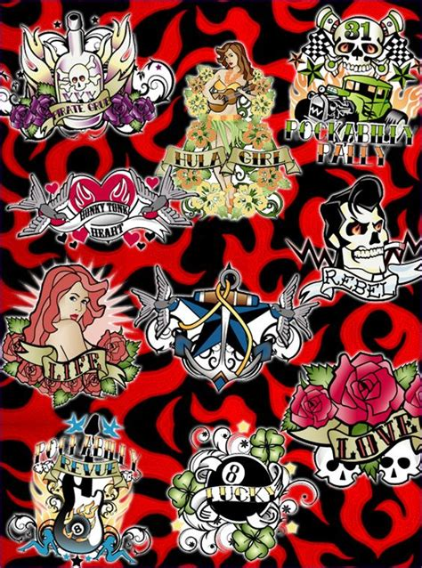 rockabilly tattoo 65 best images about rockabilly on rockabilly