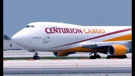 747 centurion air cargo taxi takeoff miami international