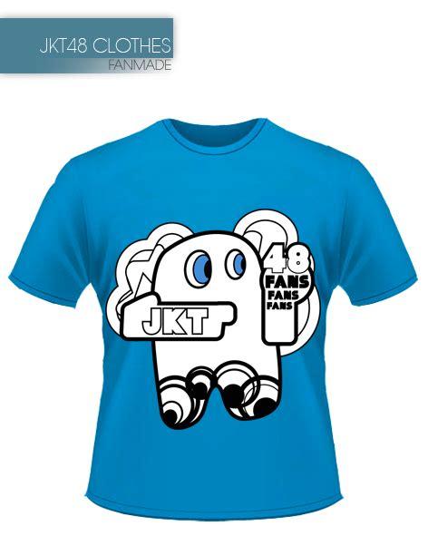 Kaos Jkt 48 Putih mrmedoos31705 desain kaos jkt48 fanmade