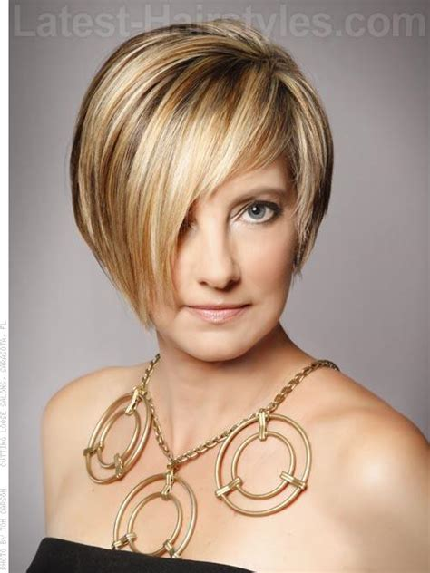 are asymmetrical haircuts good for thin hair short haircuts for thin hair and round faces archives
