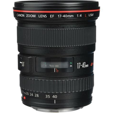 Canon Lens Ef 17 40mm F4 0 L Usm canon ef 17 40 f 4l usm 紂irokokutni objektiv zoom lens 17