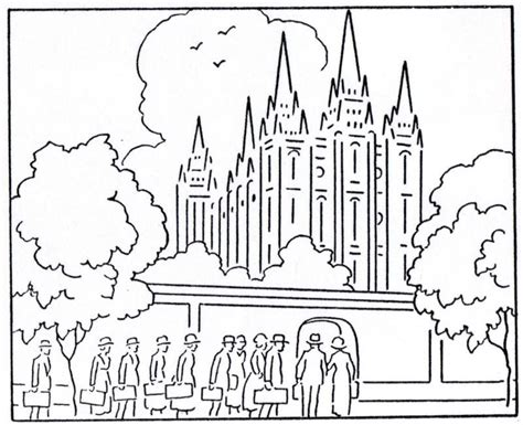 lds temple coloring pages az coloring pages