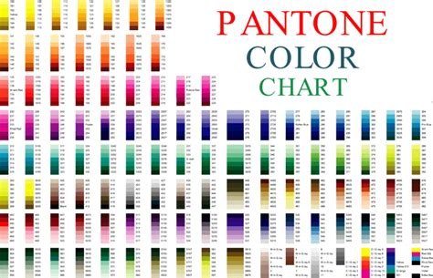 what is pms color 5 printable pantone color charts for word and pdf