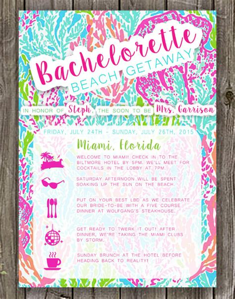 bachelorette invitation templates psd ai word