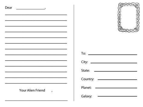 free blank postcard template for word blank postcard template for word images