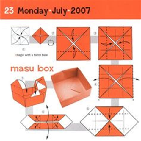 Masu Box Origami - 1000 images about masu box on origami boxes