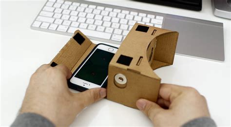 iphone vr makeshift apple vr headset how to use cardboard with an iphone 9to5mac