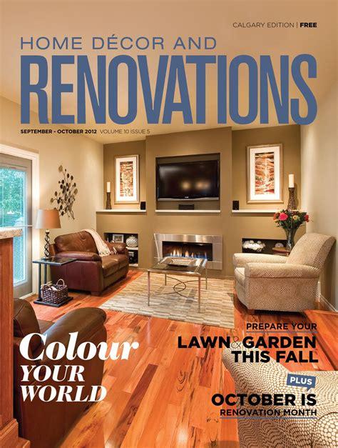 calgary home decor calgary home d 233 cor and renovations sep oct 2012 by