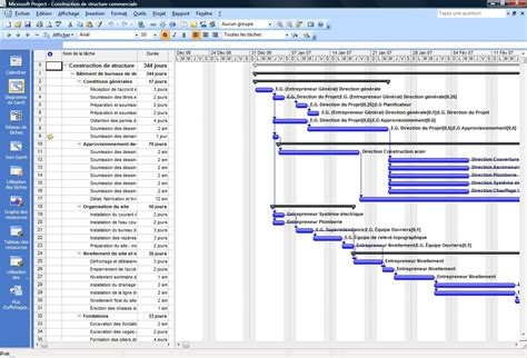 imprimer diagramme de gantt ms project 2010 formanosque formation microsoft project