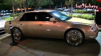 Cadillac Dts Rims Cadillac Dts On 24 Quot Forgiato Autonomo Wheels 1080p Hd