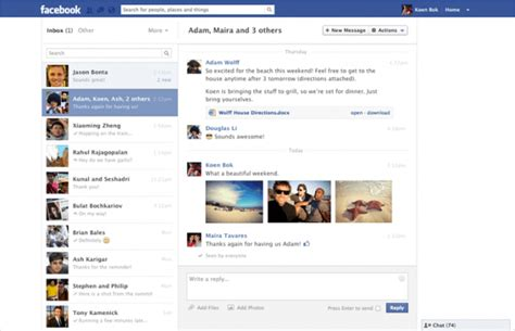 Fb Search By Email Messages Testing Recent Design Overhaul Search