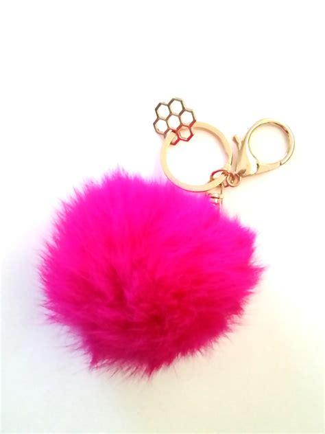 Rosy Puff puff key chain honeycut