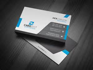 sleek business card modern sleek professional business card template 187 cardzest