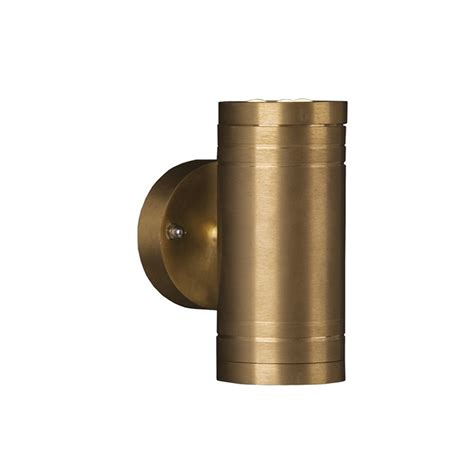 elstead gz elite2 1 light solid brass wall lantern