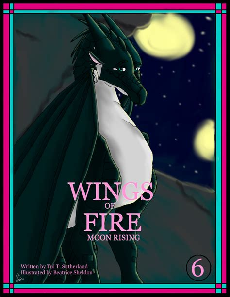 Wings Of 6 Moon Rising wings of moon rising cover by dragonprinc3ss on deviantart