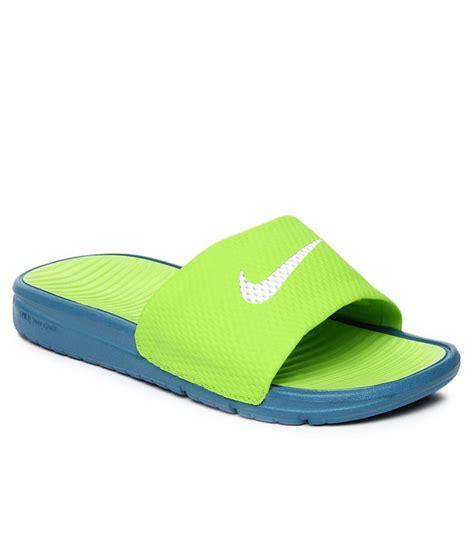 benassi slippers nike benassi solarsoft slide green slippers price in india