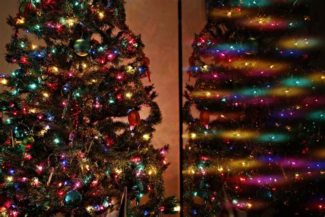 big colored christmas tree lights merry christmas and