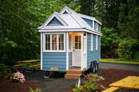 tiny housing tiny house village offers rentals to try quot tiny life quot in mt