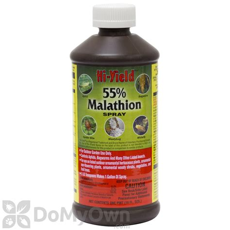 malathion insecticide spray  yield  malathion insect