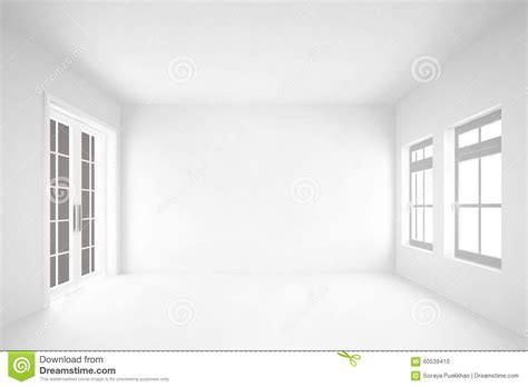 Kitchen Backdrops empty white room with door amp windows interior background