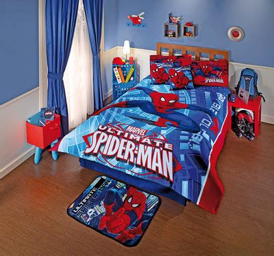 boys spiderman bedroom ideas spiderman comforter set twin 164 95 fabric is 100 microfiber includes 1 double