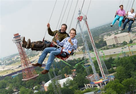 swinging new england officially the world s tallest star flyer park world