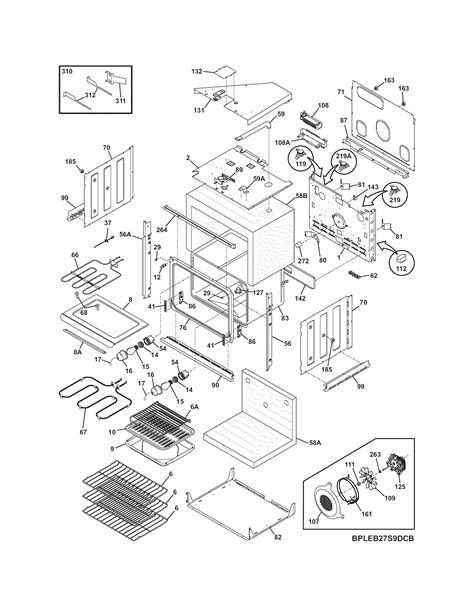 frigidaire oven parts diagram frigidaire cpeb30s8cc2 wall oven timer stove clocks and