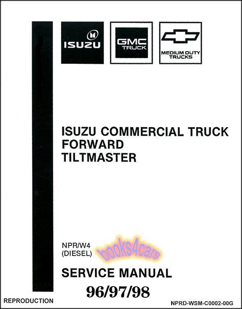 motor repair manual 1999 gmc 3500 user handbook isuzu npr manuals at books4cars com