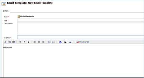 A Must Know Shortcut Adding Hyperlinks To An Email Template In Dynamics 365 Using Email Templates In Gmail
