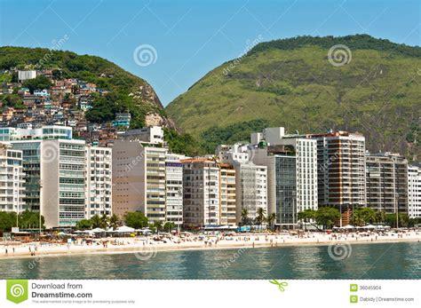 luxury apartment in de janeiro copacabana de janeiro brazil stock images