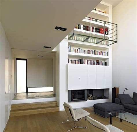 building comfort space with mezzanine levels home