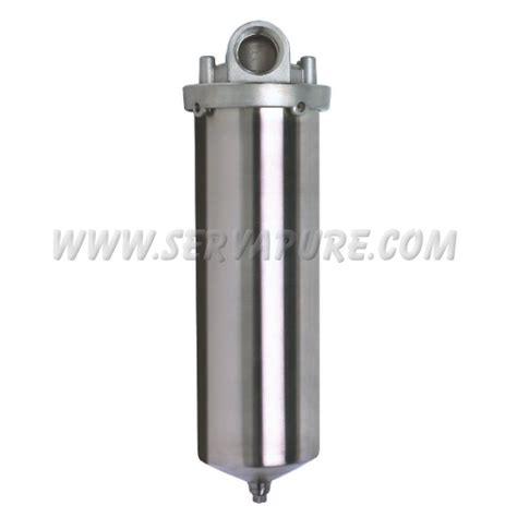 Hausing Filter Nanotec 10 Carbon Active quantrol gfhd121nd2630 10 quot 316ss single cartridge filter housing serv a