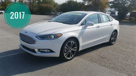 Ford Fusion Se Sport by 2017 Ford Fusion Titanium Sport Se Review Interior