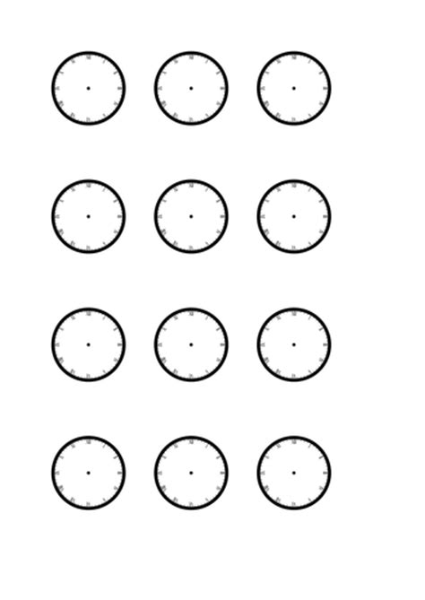 clock worksheet roman numerals blank roman numeral clock faces by rjeffries25 teaching
