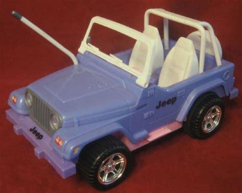 Jeep For Dolls Bratz Doll Remote Jeep Wrangler Purple Pink 1999 Ebay