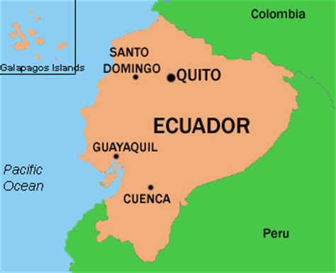 where is ecuador on the world map basic data of ecuador infolaso tables of statistical data