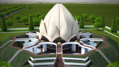 architect of lotus temple architecture lotus temple project