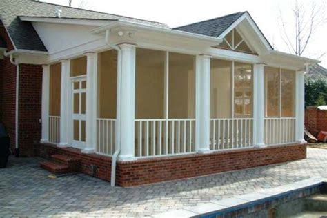 doors windows how to build a screened in porch custom