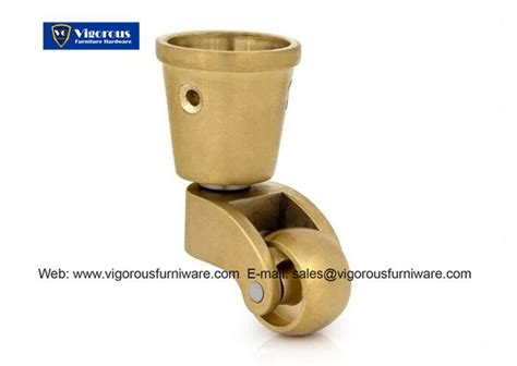 sofa legs with casters brass furniture casters chair caster vigorousfurniware